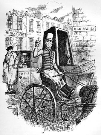 The Last Cab Driver, and the First Omnibus Cad, C1900 by George Cruikshank