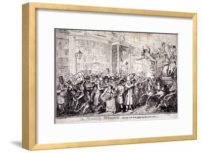 The Picadilly Nuisance, London, 1818