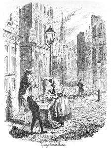 The Streets - Morning, C1900 by George Cruikshank
