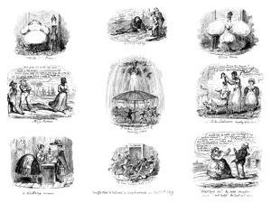 Various Cartoons, 1829 by George Cruikshank