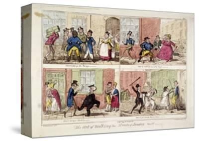 Walking the Streets of London, 1818