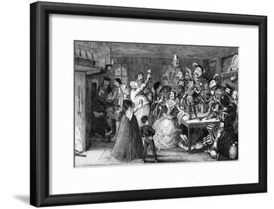Xit, Now Sir Narcissus Le Grand, Entertaining His Friends on His Wedding Day, 1840