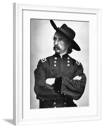 George Custer (1839-1876)--Framed Photographic Print