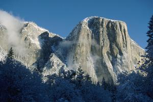 El Capitan Mountain by George D Lepp