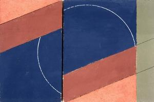 Painting - Interrupted Circle, 2000 by George Dannatt