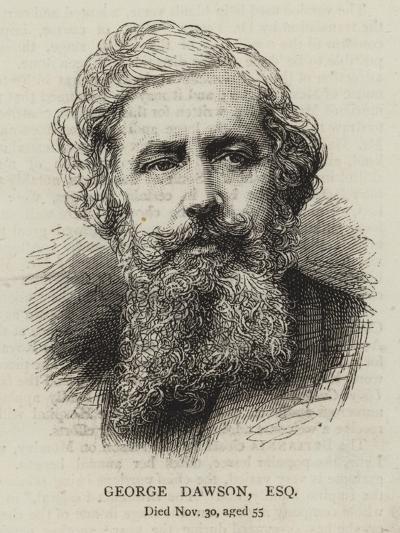 George Dawson, Esquire--Giclee Print
