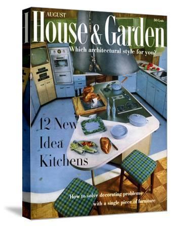 House & Garden Cover - August 1958