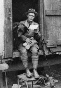 George Donald, Scottish Shepherd, Hyde Park, London, 1926-1927