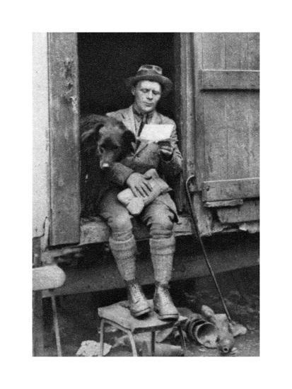George Donald, Scottish Shepherd, Hyde Park, London, 1926-1927--Giclee Print