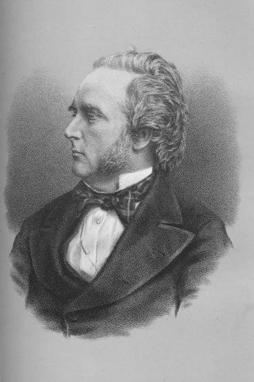 George Douglas Campbell, 8th Duke of Argyll, Scottish politician and writer, c1870s-Unknown-Giclee Print