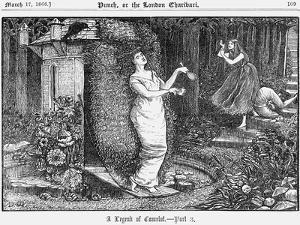 A Legend of Camelot - Part 3, 1866 by George Du Maurier