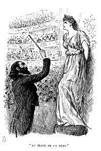 Au Clair De La Lune: the Power of Hypnosis, 1894 by George Du Maurier