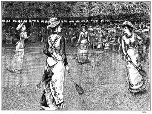 International Reciprocity, 1879 by George Du Maurier
