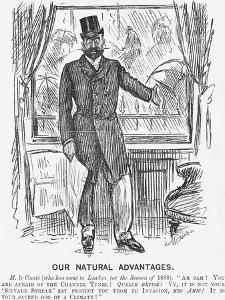 Our Natural Advantages, 1888 by George Du Maurier