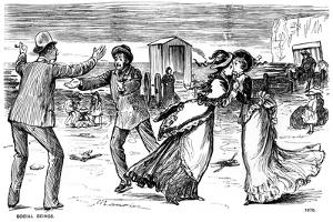 Social Beings, 1876 by George Du Maurier