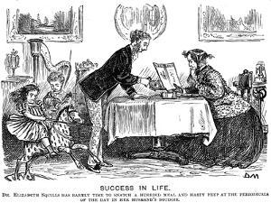 Success in Life, 1867 by George Du Maurier