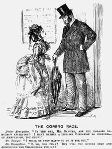 The Coming Race, 1872 by George Du Maurier