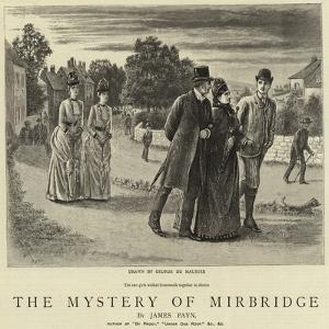 The Mystery of Mirbridge by George Du Maurier