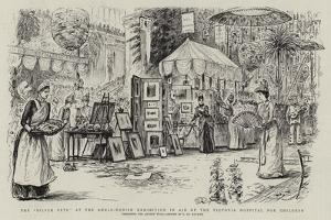 The Silver Fete at the Anglo-Danish Exhibition in Aid of the Victoria Hospital for Children by George Du Maurier