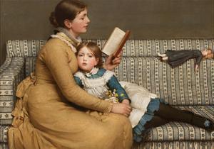 Alice in Wonderland, C.1879 by George Dunlop Leslie