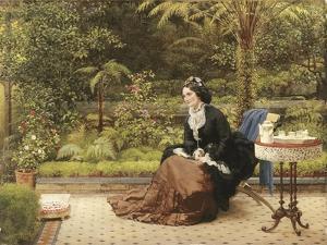 Five O'Clock, C.1874 by George Dunlop Leslie
