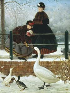 In the Park by George Dunlop Leslie