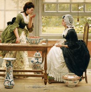 Pot-Pourri, circa 1874 by George Dunlop Leslie