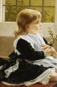 Pussy Willow by George Dunlop Leslie
