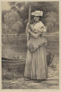 The Ferryman's Daughter by George Dunlop Leslie