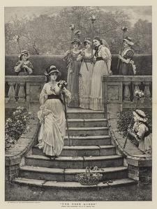 The Rose Queen by George Dunlop Leslie