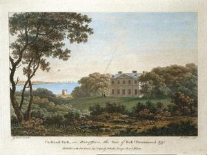 Andrew Robert Drummond's House, Cadland Park, Hampshire, 1780 by George Elgar Hicks
