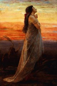 The Lament of Jephthah's Daughter, 1871 by George Elgar Hicks