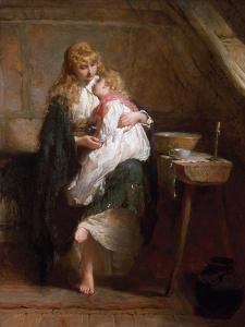 The Orphans, 1884 by George Elgar Hicks