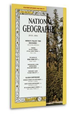 Cover of the July, 1964 National Geographic Magazine