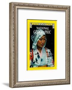 Cover of the June, 1976 National Geographic Magazine by George F. Mobley