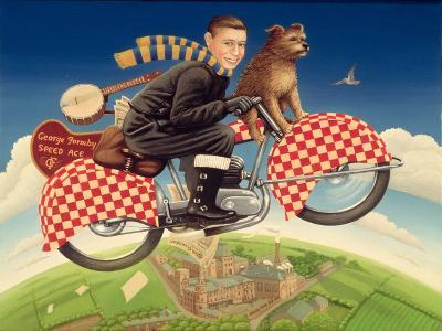 George Formby - Speed Ace, 1989-Frances Broomfield-Giclee Print