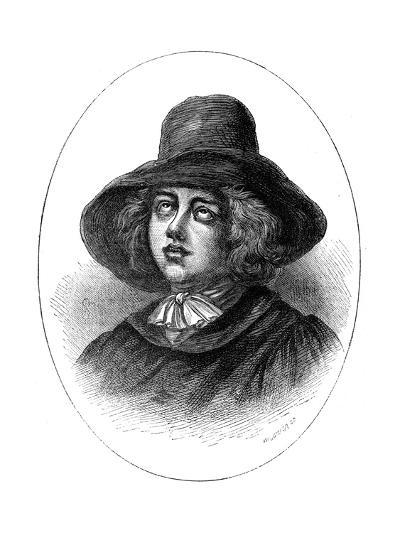 George Fox, Founder of the Quakers, 17th Century-Whymper-Giclee Print
