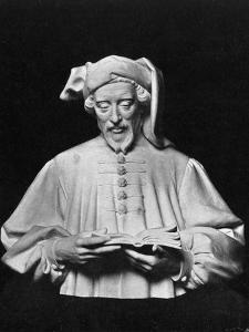 Geoffrey Chaucer, English Author, Poet, Philosopher, Bureaucrat, and Diplomat by George Frampton
