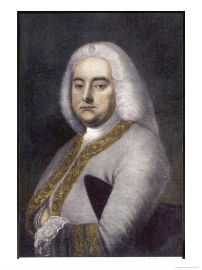 George Frederic Handel German-English Musician--Giclee Print