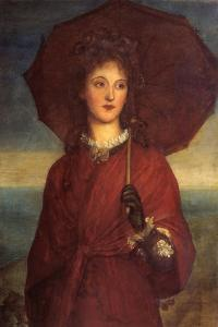 Eveleen Tennant, Later Mrs F.W.H. Myers by George Frederic Watts