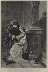 Henry VIII, and Anne Boleyn by George Frederick Folingsby