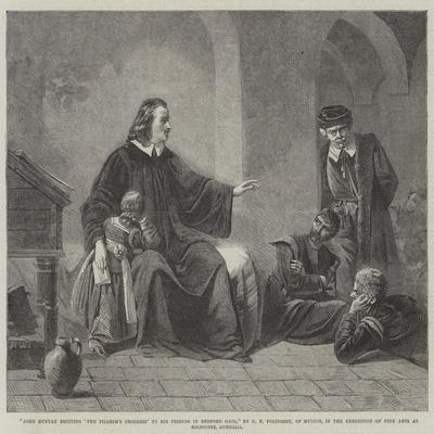 John Bunyan Reciting 'The Pilgrim's Progress' to His Friends in Bedford Gaol