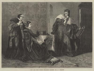 Lady Jane Grey's Victory over Bishop Gardiner