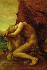 Adam and Eve, c.1865 by George Frederick Watts