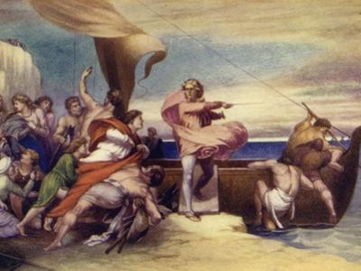 Alfred Inciting the Saxons to Resist the Danes by George Frederick Watts