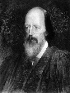 Alfred Lord Tennyson - by George Frederick Watts