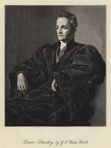 Dean Stanley by George Frederick Watts