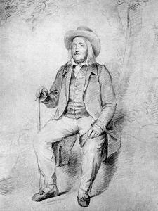 Jeremy Bentham by George Frederick Watts