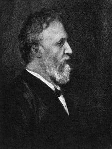 Robert Browning by George Frederick Watts