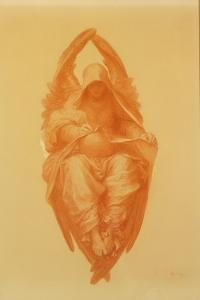 The All Pervading, 1890 by George Frederick Watts